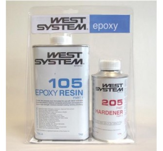 WEST SYSTEM Resina Epossidica Kg.1,2